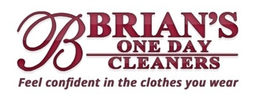 Brian's One Day Cleaners Logo