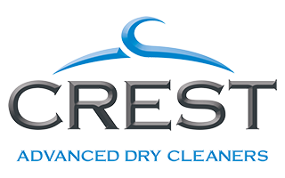 Crest Advanced Dry Cleaners Logo