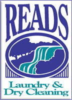 Reads Laundry  Dry Cleaning Logo
